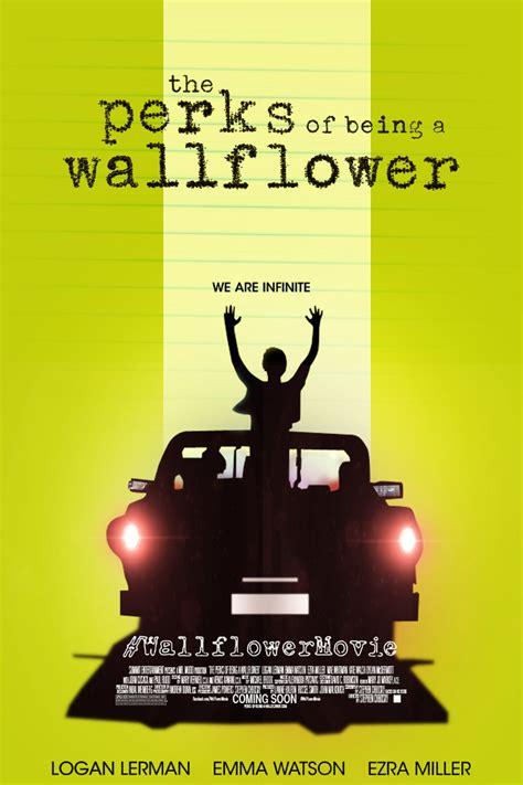 perks being wallflower ser ventajas poster las marginado movie fan marchando una un fotos advertisements invisible
