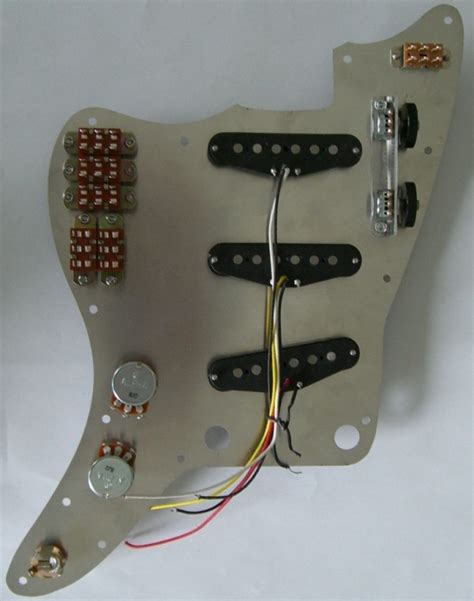 New Jazzmaster Pickguard Concept Marauder Wiring With