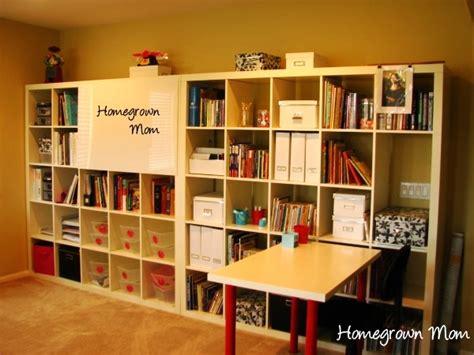 Homeschool Closet Organization Ideas by Homeschool Organization Storage Spaces And Learning