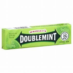 Doublemint Gum, 5 sticks