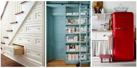 downsizing    clever storage solutions  small