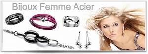 bijoux acier femme With bijoux acier