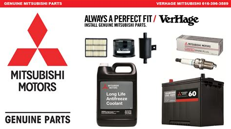 parts  accessories warranty verhage mitsubishi