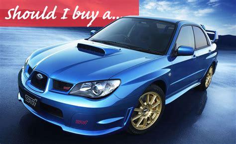 Used Subaru Wrx by Should I Buy A Used Subaru Wrx 187 Autoguide News