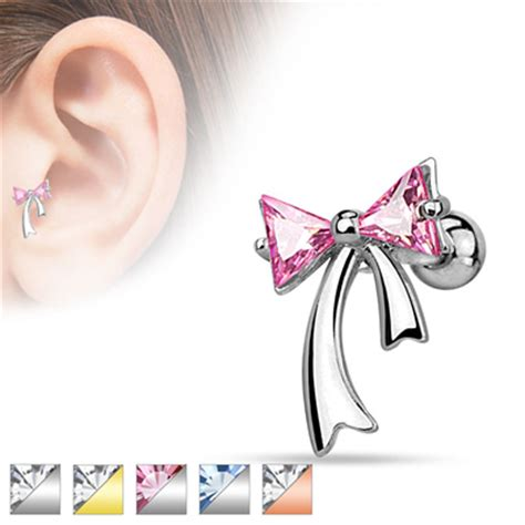 cartilage tragus jewellery glamore piercing