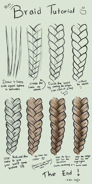 step  step tutorial    draw braids  sumopaint
