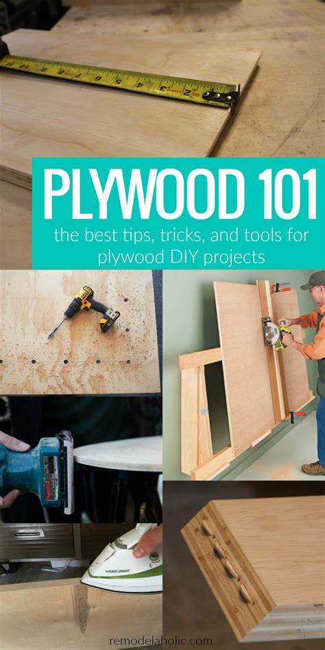 remodelaholic plywood   plywood tips