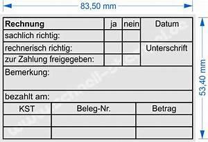 Rechnung Ohne Unterschrift : kontierungsstempel f r die buchhaltung seite 2 schnell stempel ~ Themetempest.com Abrechnung