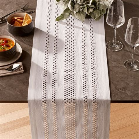 """Jemme 90"""" White Table Runner + Reviews 