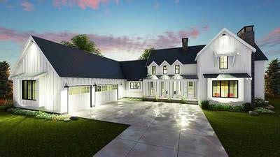 plan dj modern  bedroom farmhouse plan modern farmhouse exterior modern farmhouse