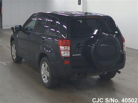 2006 suzuki escudo grand vitara black for sale stock no 40502 used cars exporter
