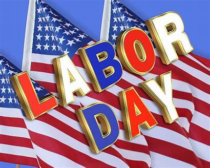Labor American Weekend Holiday Usa Happy Flags