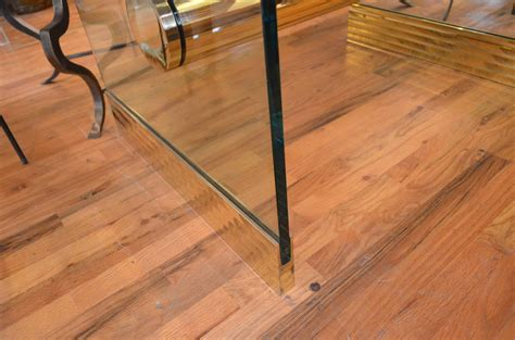 long desks for sale monumental long glass pace dining table or desk for sale