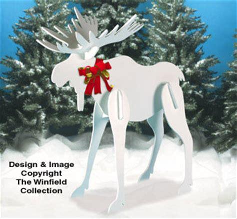 christmas large christmas moose pattern