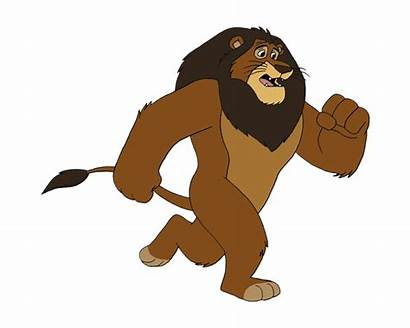 Animated Animation Lion Running Clipart Tiger Dog