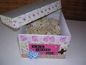 Boite Archive Deco : ma boite d co pour mes objets scrap scraplauriane ~ Teatrodelosmanantiales.com Idées de Décoration