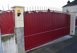 les portails du forgeron du golf With peinture epoxy portail fer