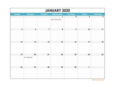 excel calendar large boxes   grid
