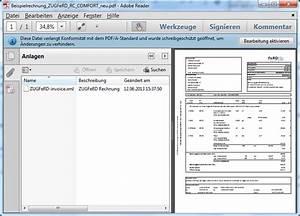 Zugferd Rechnung Beispiel : zugferd durchbruch f r die elektronische rechnung mailconsult blog ~ Themetempest.com Abrechnung