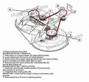 Mcculloch Cutter Deck Belt Fits New 2010 Model M125