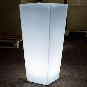 pot lumineux exterieur mundufr With déco chambre bébé pas cher avec pot de fleur lumineux interieur