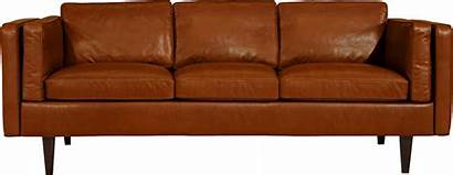 Sofa Transparent Couch Background Clipart Modern Leather