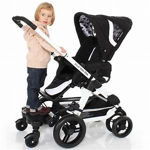 Kinderwagen Für 2 Kinder : trittbrett f r kinder kiddy ride on abc design mytoys ~ Yasmunasinghe.com Haus und Dekorationen
