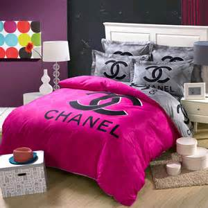 Coco Chanel Bedding Set