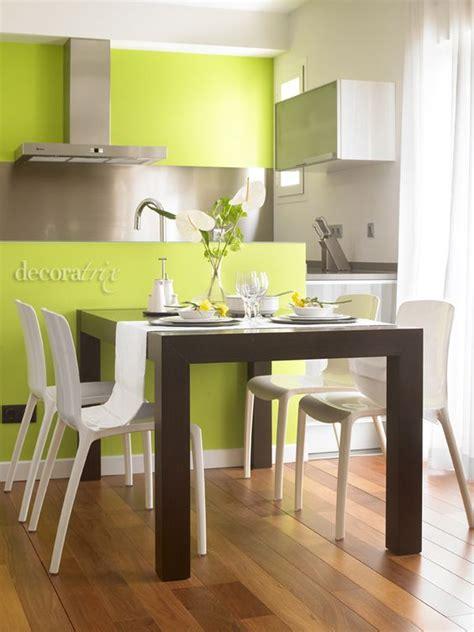 ideas  decoracion color verde manzana decoracion de