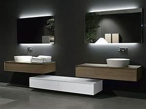 miroir salle de bain lumiere integree chaioscom With miroir lumiere integree