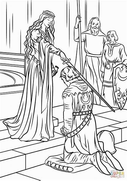 Coloring Realistic Pages Princess Adults Printable Getcolorings