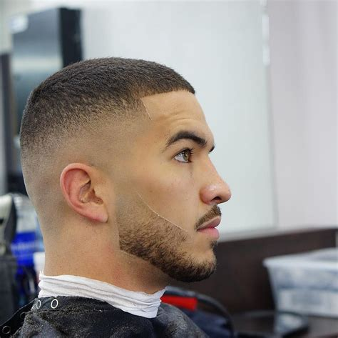 simple hair with bald fade hairstyles best fade