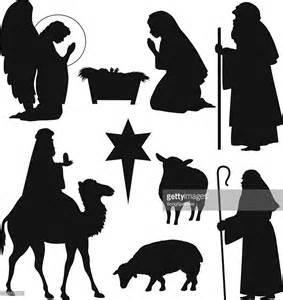 Christmas Nativity Silhouettes