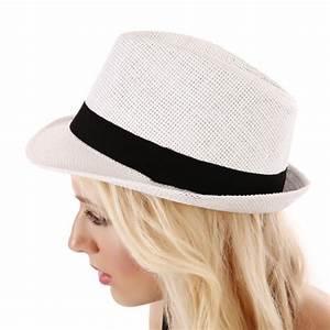 chapeau en paille femme avec ruban blanc pas cher la modeuse With robe de cocktail combiné avec chapeau paille blanc
