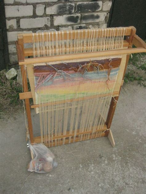 wooden sweden tapestry weaving loom ebay