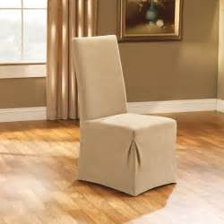 Dining Chair Slipcovers Ikea by Interior Dark Brown Fabric Sure Fit Dining Room Chair