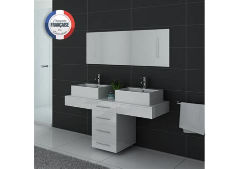 meuble de salle de bain original 2 vasques meuble de salle de bain original blanc