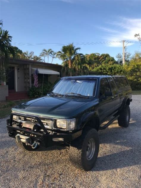 old cars and repair manuals free 1992 toyota 4runner windshield wipe control 1992 toyota pickup 4x4 manual classic toyota other 1992 for sale