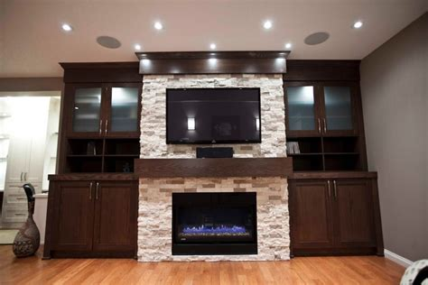 Home Entertainment Fireplace Living Room Furniture