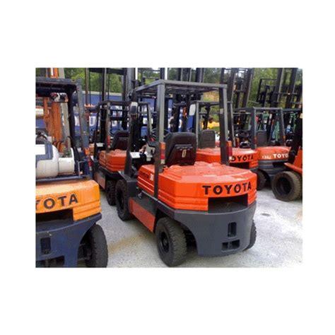 toyota diesel forklift   reconditioned forklift