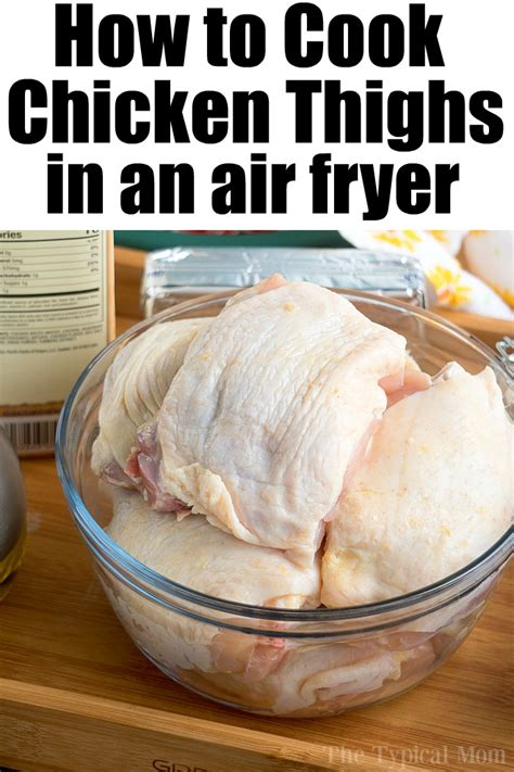 fryer thighs chicken air recipes crispy dry temeculablogs oven rub ever juicy thigh fried recipe sweet airfryer pressure dinner cooker