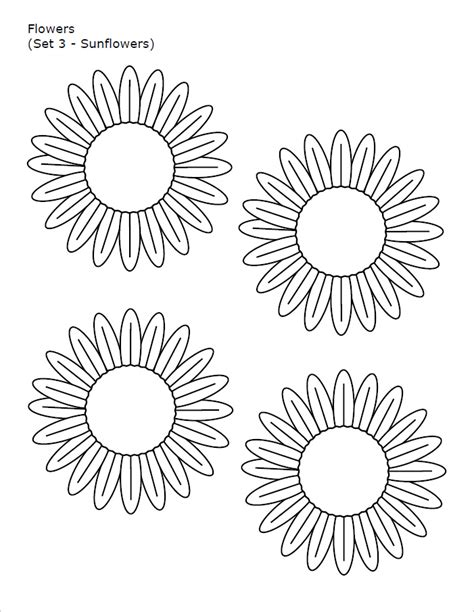 free printable flower template 10 flower templates free pdf word designs creative template