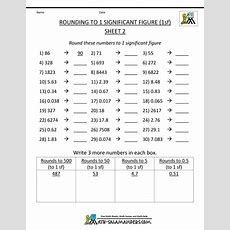 Rounding Significant Figures