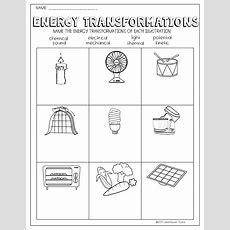 Energy Transformations Worksheet  School  Energy Resources, Transformation Geometry, Geometry