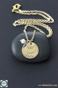 sale big little sorority necklace back to school With sorority necklaces letters