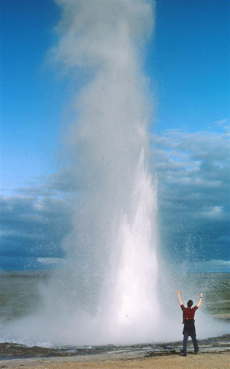 geysir heisse quellen geothermales feld vulkan