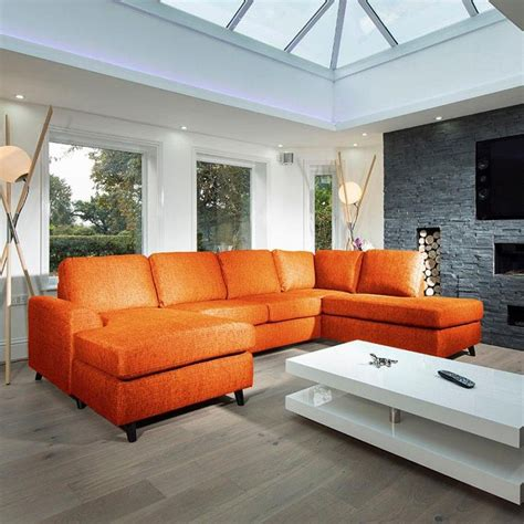 L Shaped Settee by Large Modern Luxury Sofa Settee 3x2mtr L Shape Corner