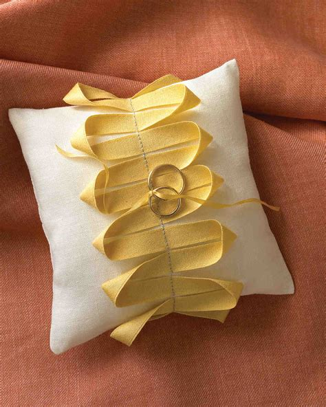 how to tie rings to wedding pillow unique ribbon ideas for your wedding that are fit to be