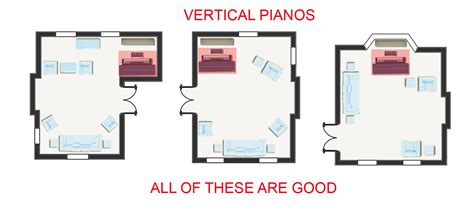 open one house plans piano room placement where to position your piano in a room