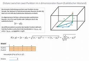 Abstand Punkte Berechnen : distanz zwischen zwei punkten erhard rainer ~ Themetempest.com Abrechnung